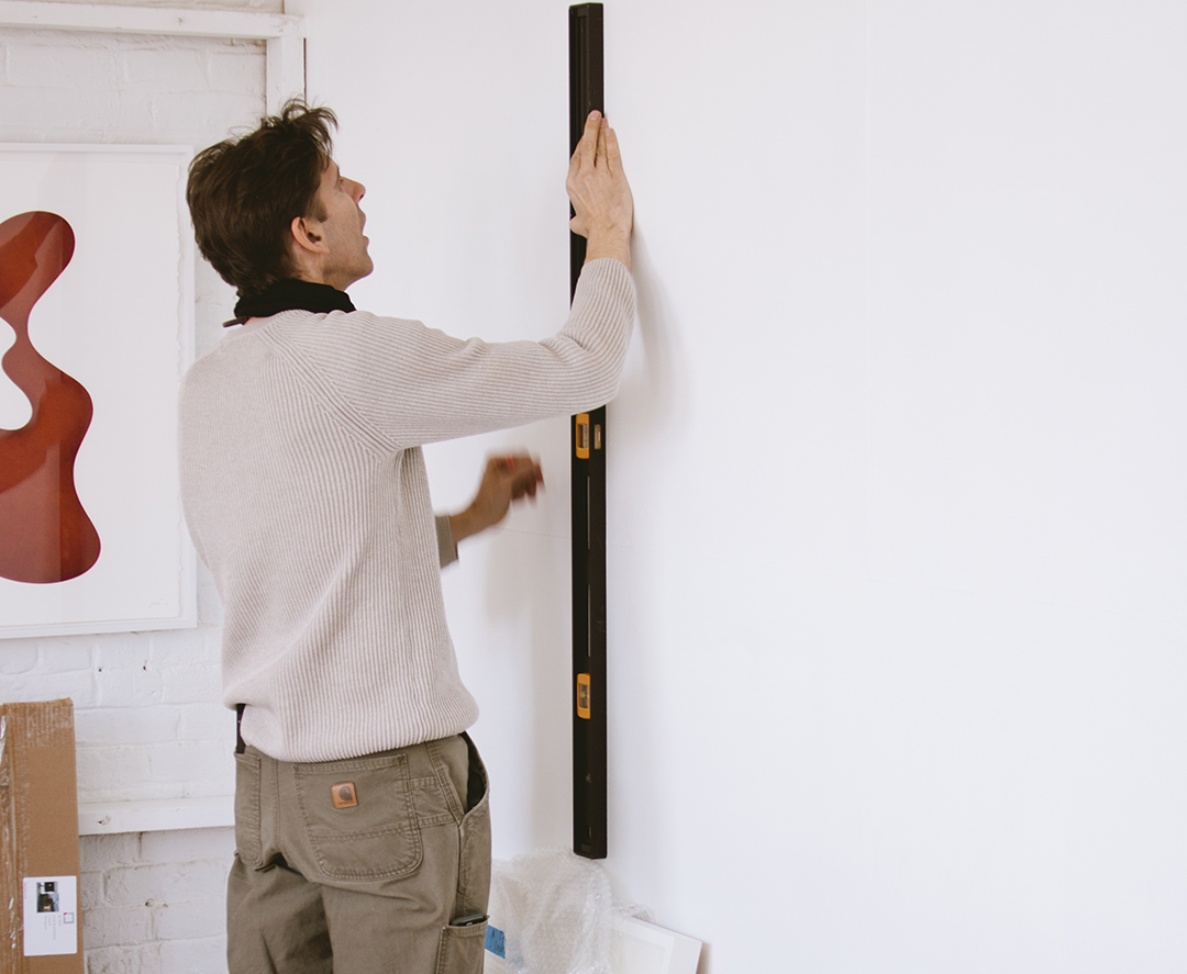 Art installation services offered by Jameson and Thompson, Boston