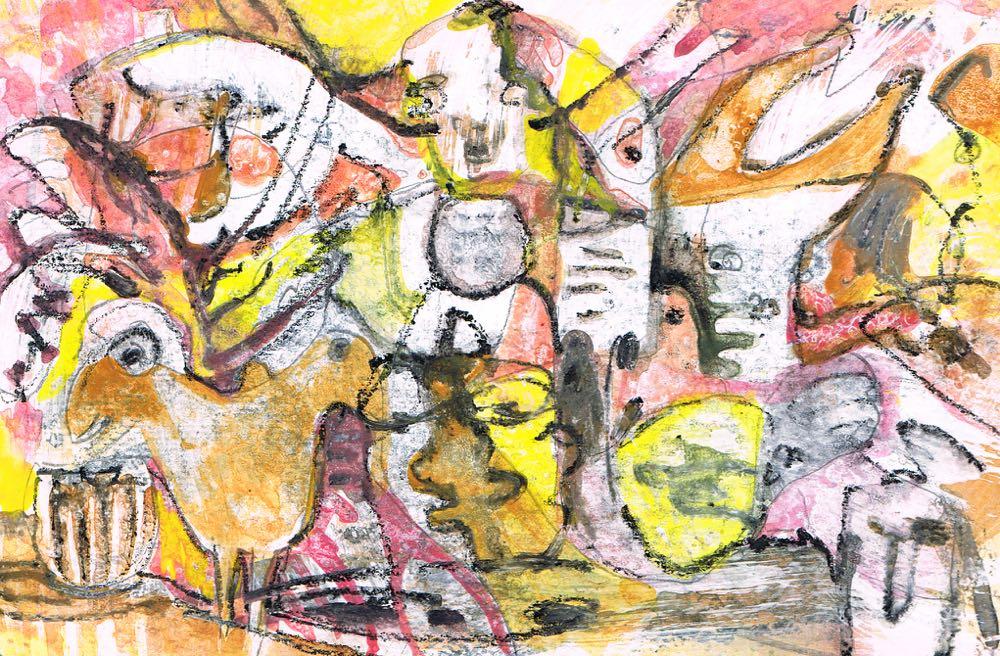 Artmoney 20-01-16 - gouache on paper