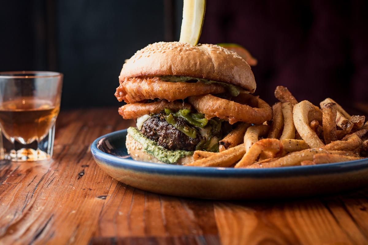 The Moon Burger