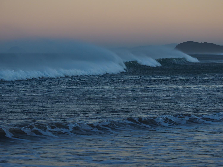 Off-shore gale (Waihi Beach)