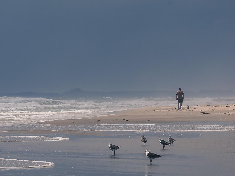 Papamoa Beach solitude