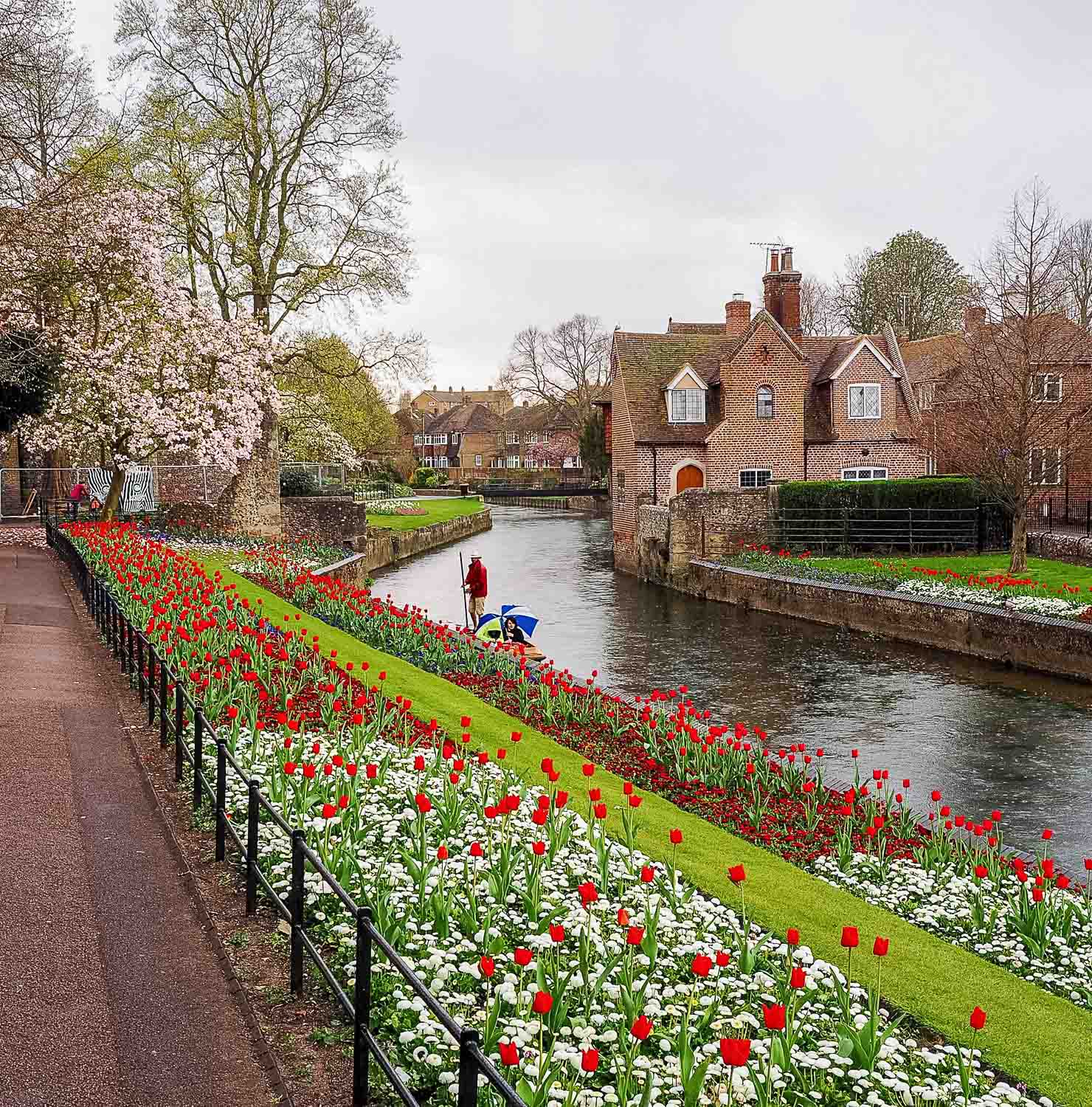 Canterbury, Kent, UK. April 2015.