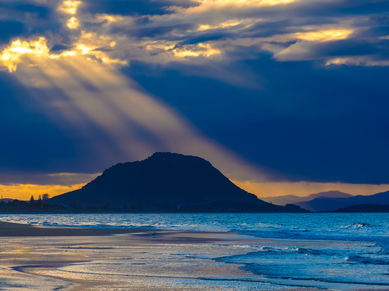 Shine a light. Mauao, Mount Maunganui, NZ. 1/250sec, f/10, ISO 200