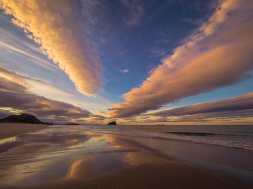 Skyfall. Mount Maunganui Beach. P9027710
