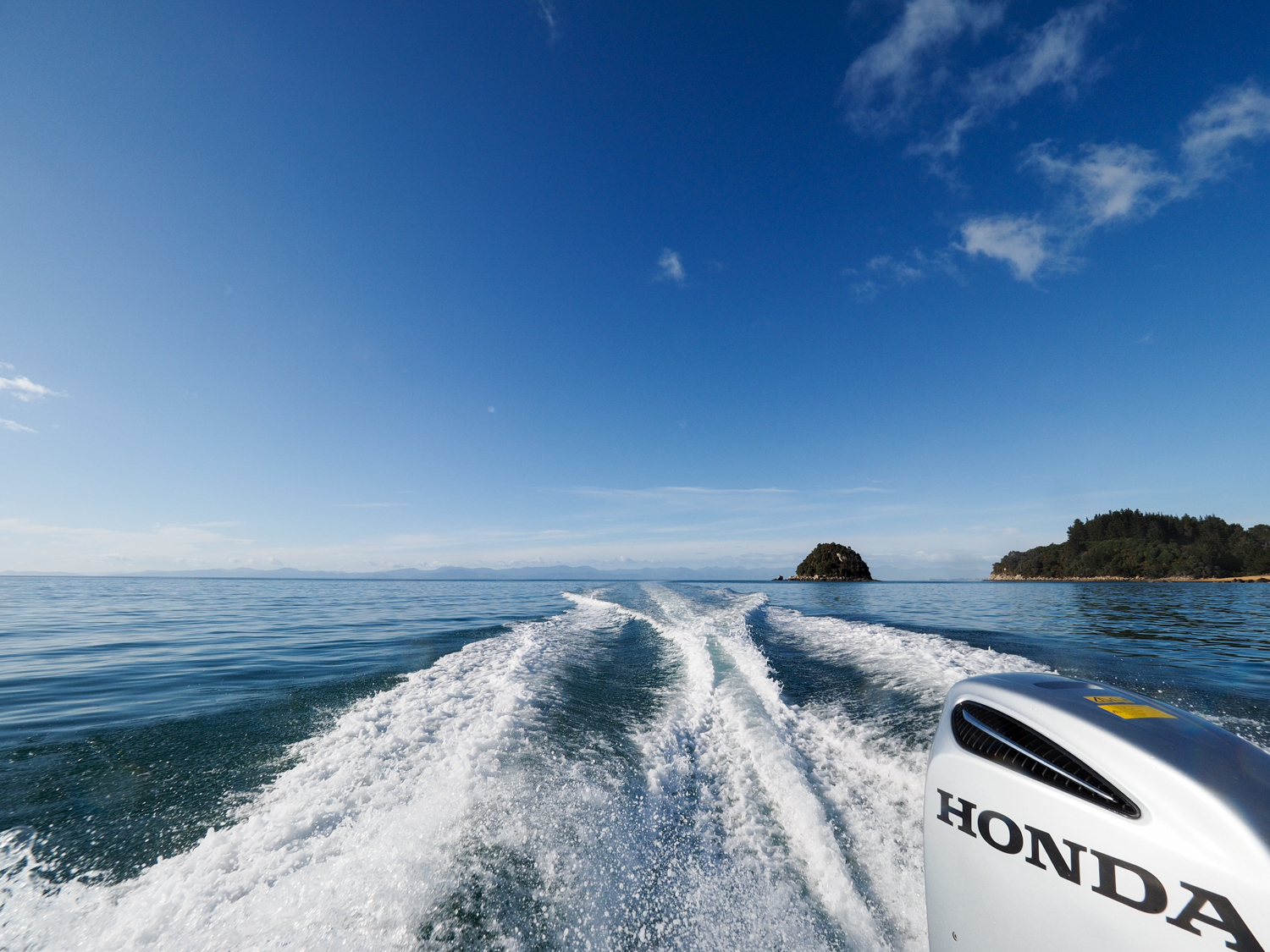 Bound for Bark Bay in Abel Tasman National Park, Nelson, NZ. 27 Aug 2016