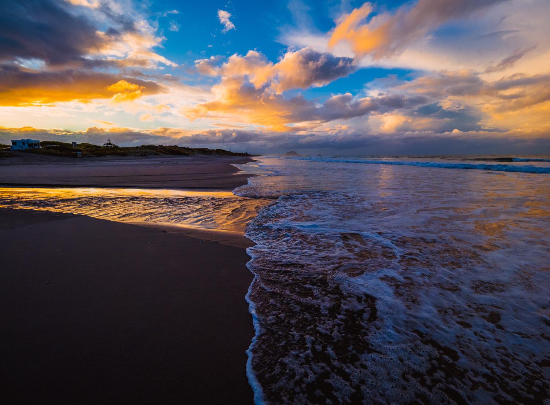 After the storm. Bay of Plenty, NZ. P8178553