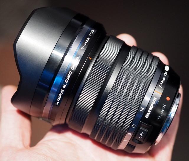 Olympus M.Zuiko 7-14mm f/2.8 lens