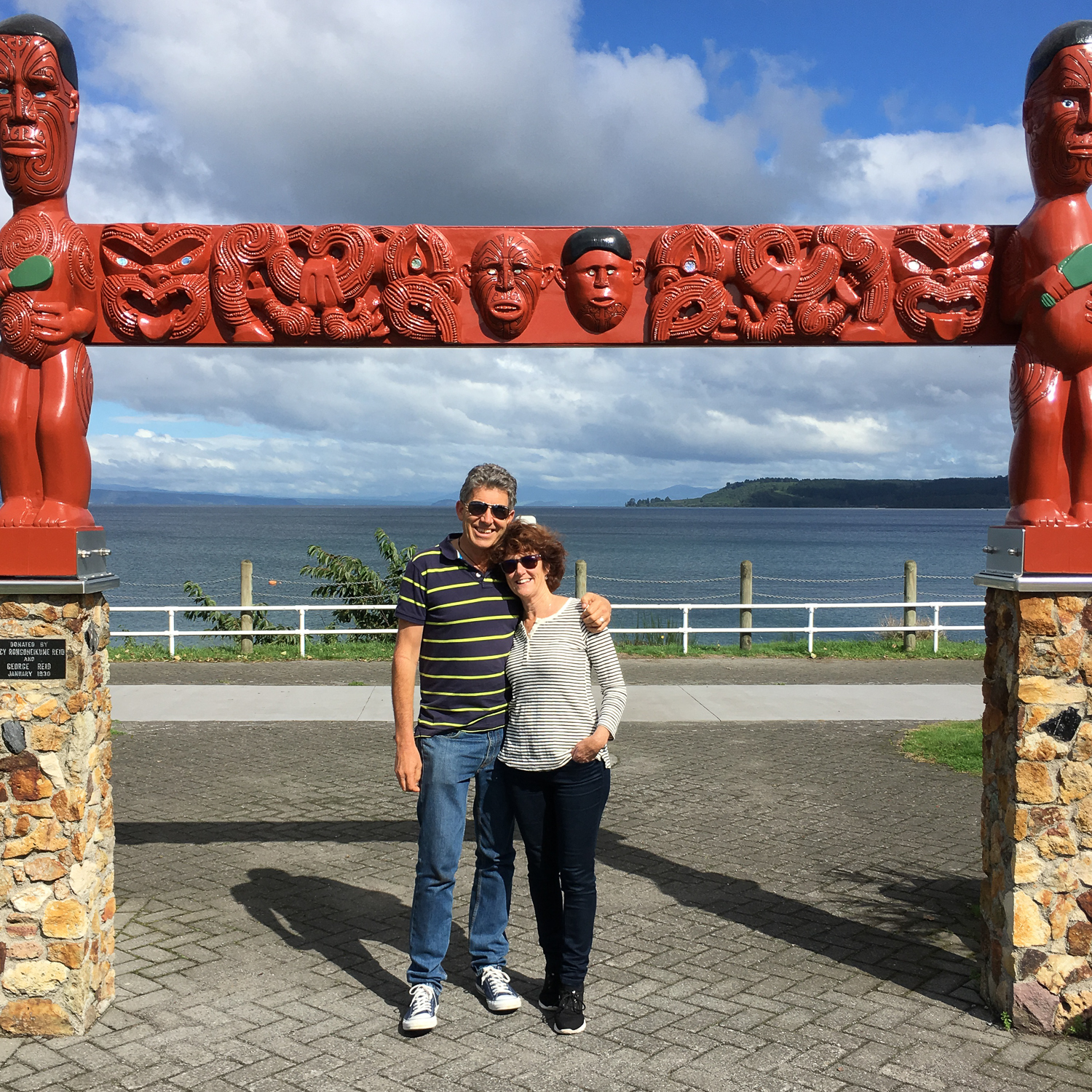 Lake Taupo with Margie Taylor