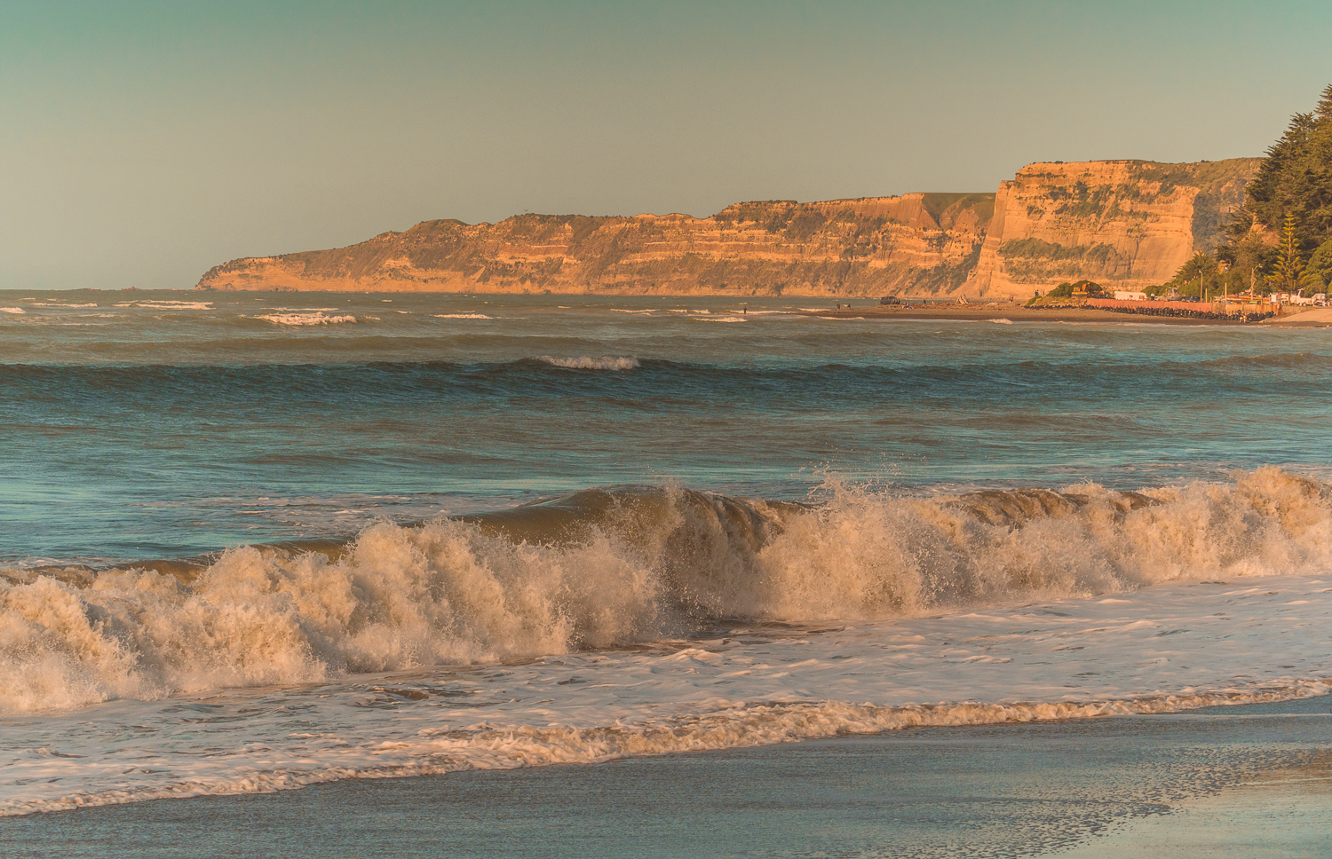 Clifton Beach and Cape Kidnappers