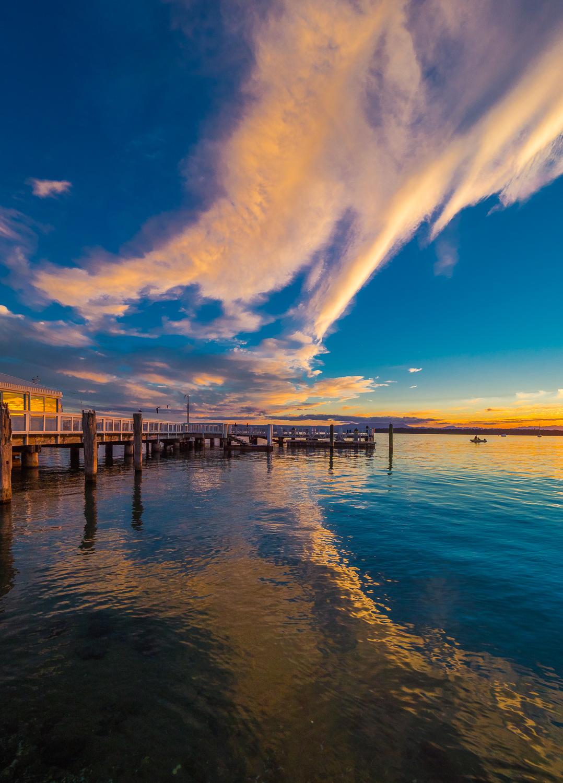 Pilot Bay Sunset. P8042423