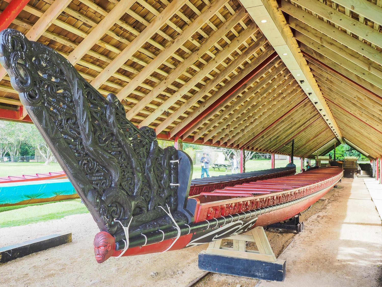 Ngatokimatawhaorua, the largest canoe in the world.
