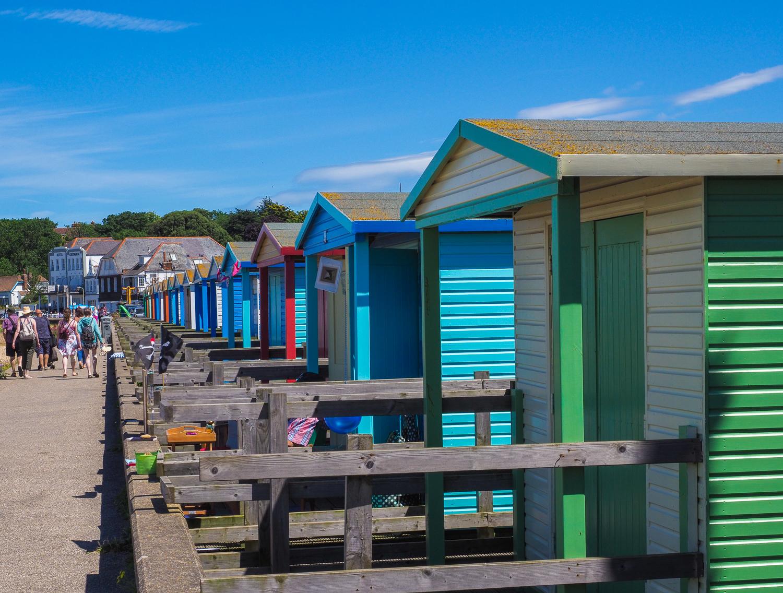 Beach huts, Whitstable.