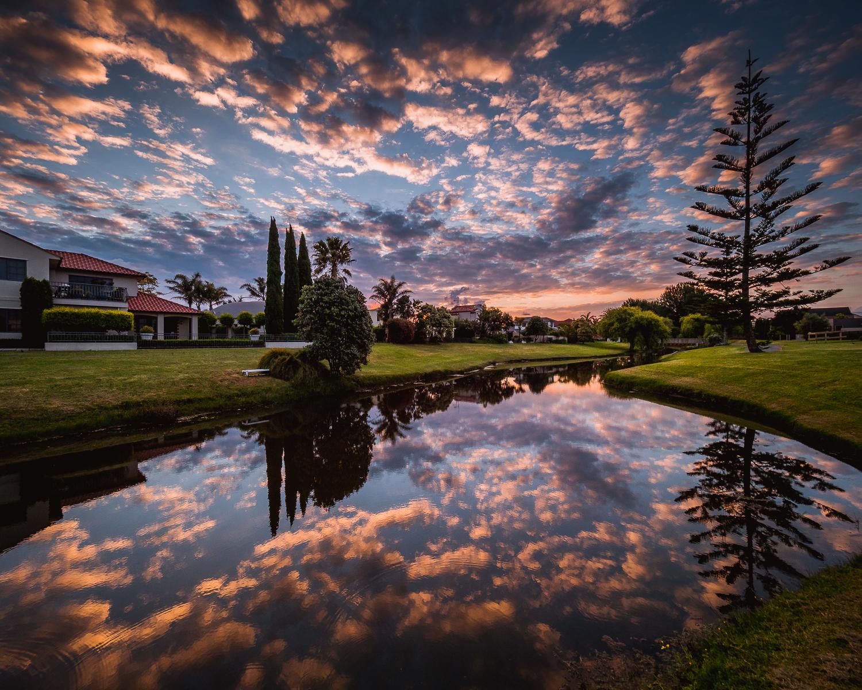 Sunset Reflections. PB151675