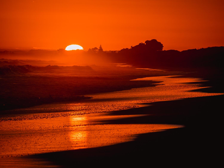 Summer Sunrise, Papamoa Beach. PC152800
