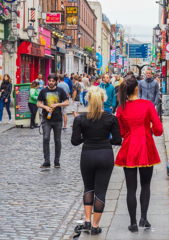 The colour of Dublin, Ireland.