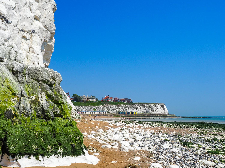 View toward Broadstairs, Kent, UK, 2017 taken with Olympus 12-40mm f/2.8 lens.