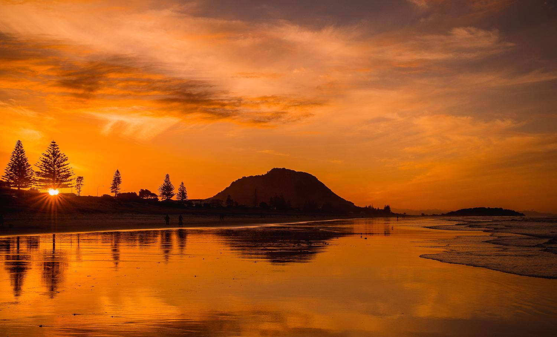 Mount Maunganui Sunset. P5045027