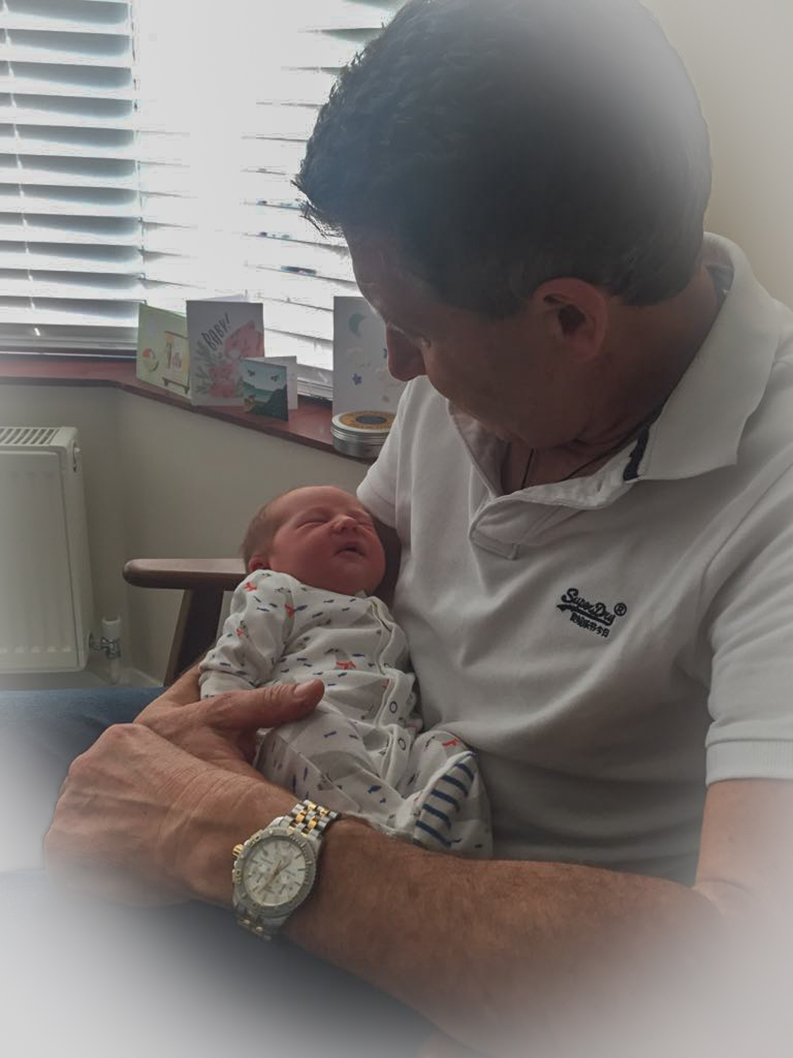 Our 5th grandchild and first born in the UK. Little Leo.