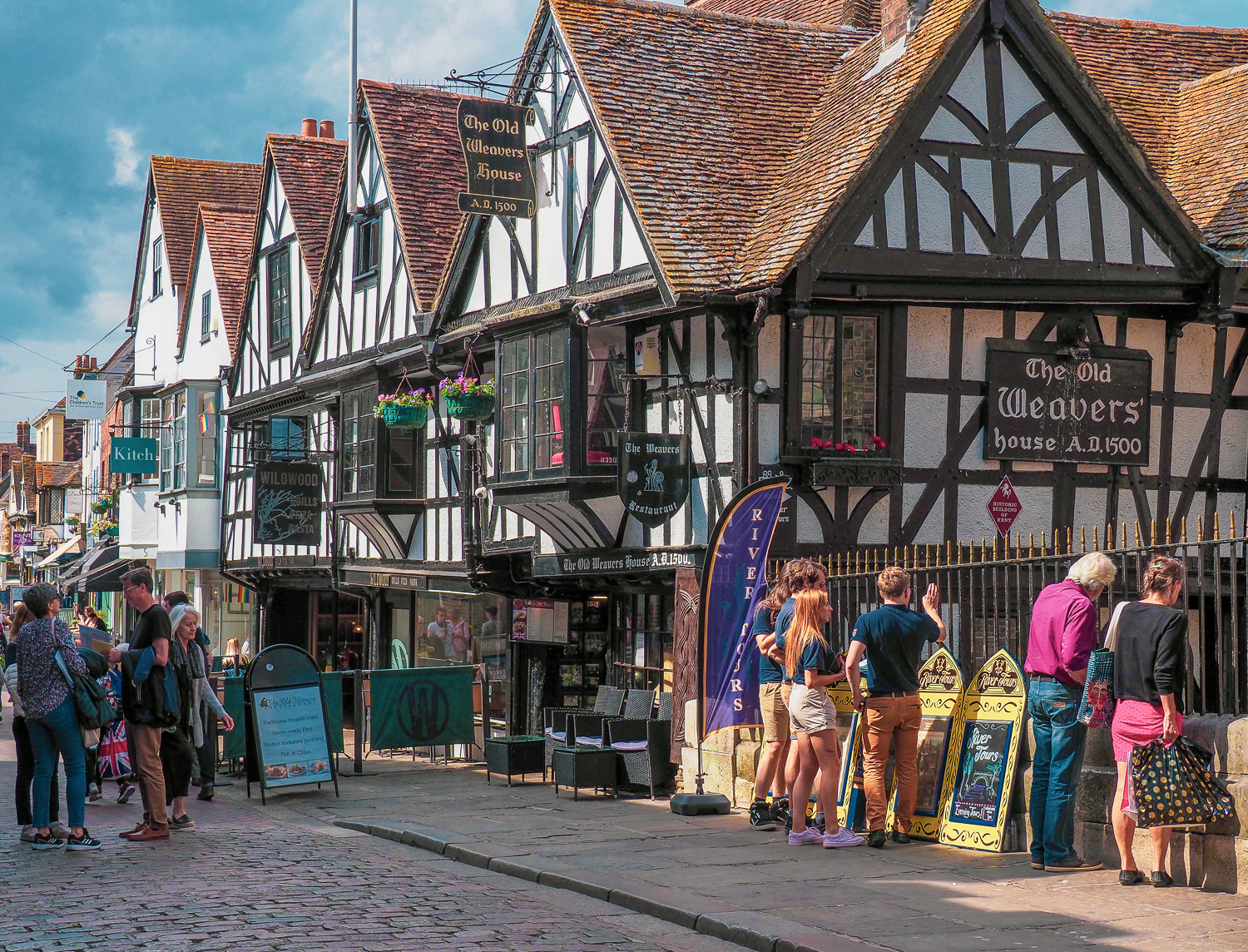 The Old Weavers' House, Canterbury, Kent, UK.