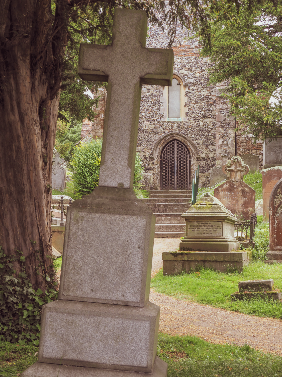 St Martin's Church, Canterbury, Kent. The oldest church in the entire English-speaking world.