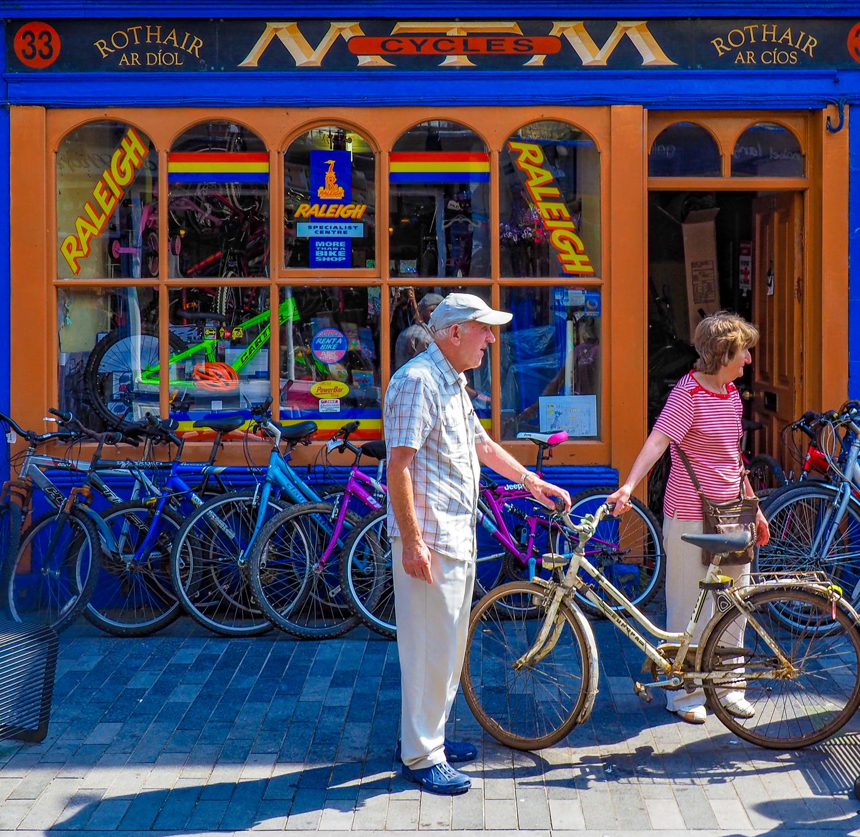 On ya bike. Clonakilty, Ireland