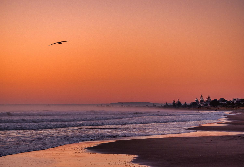 Silent dawn. Tay Street Beach, Mount Maunganui. P5050012
