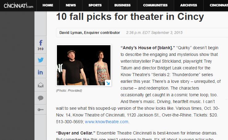 10 Fall Picks