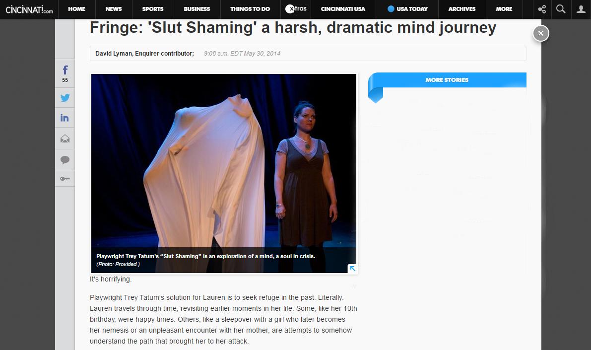 Slut Shaming Review - Enquirer