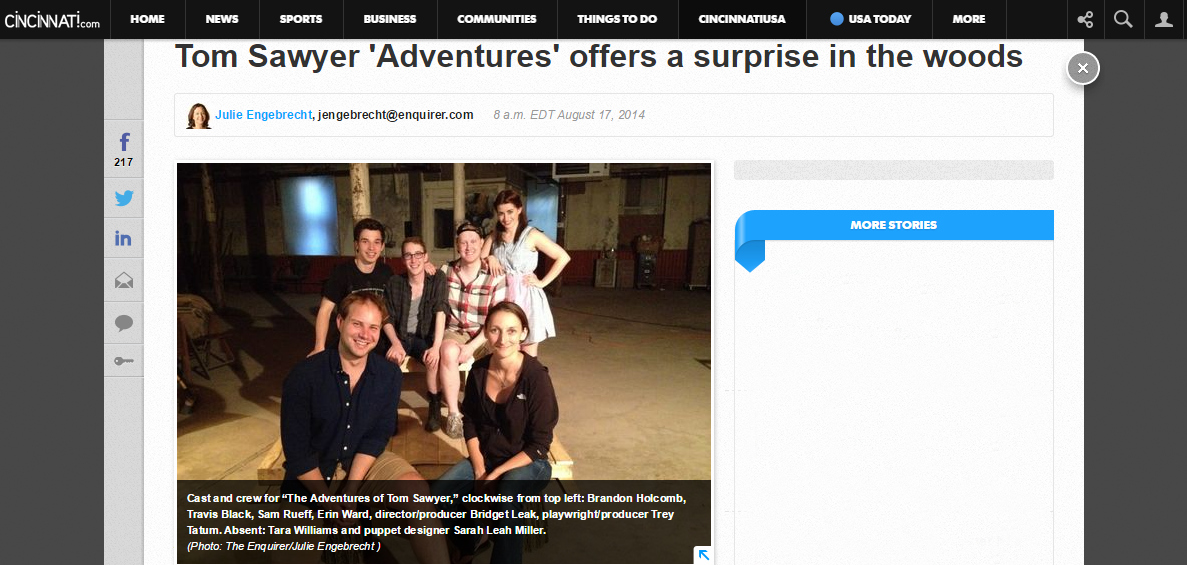1. Adventures Enquirer Feature