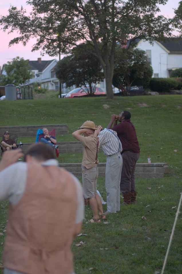 Brandon Holcomb, Terrance McCraney, Patrick McWilliams &Trey Tatum  photo by Paul Kerford Wilson