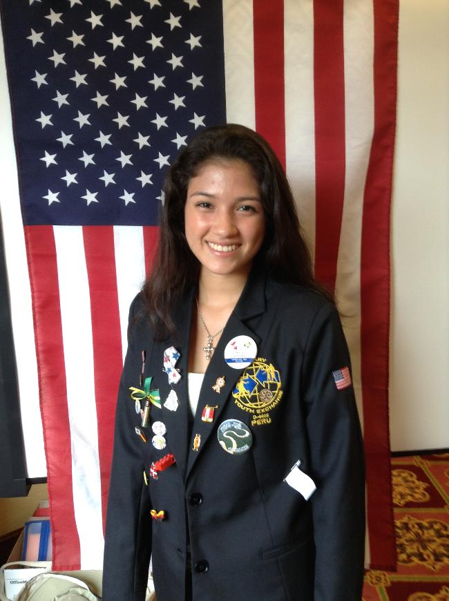 Meet Karla Acosta from Peru - Youth Exchange student