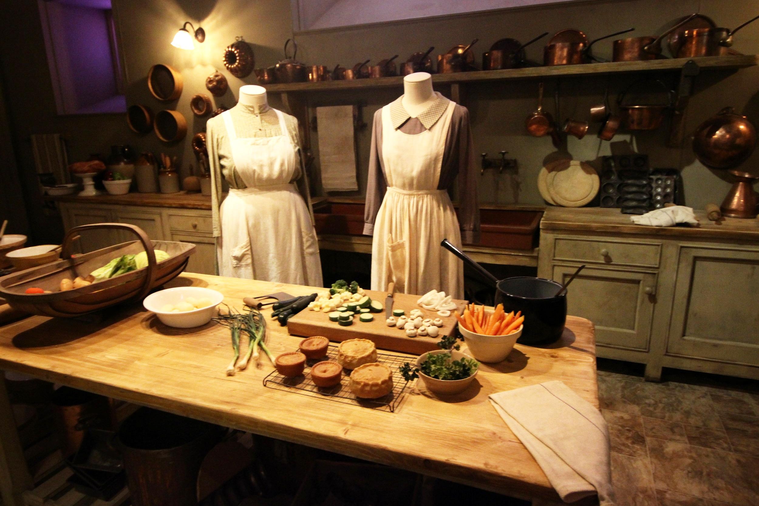 Mrs Patmore's kitchen