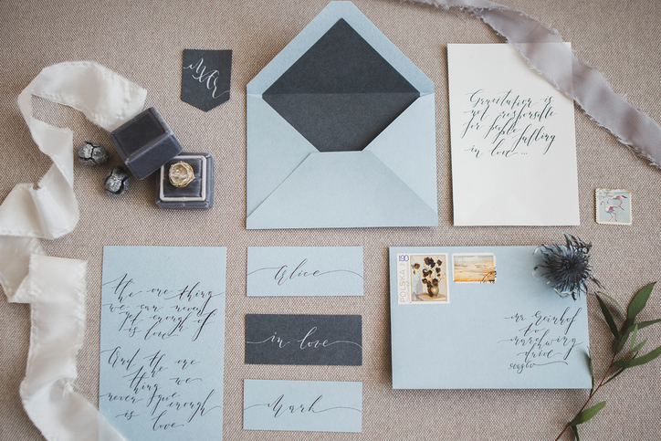 creative wedding stationary make your day special