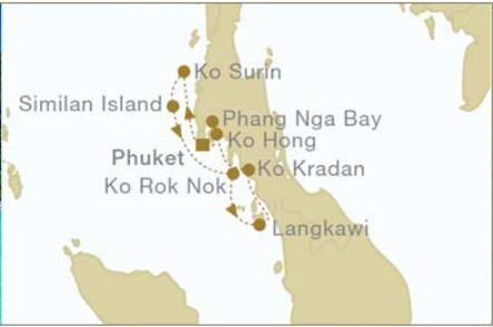 7 Night North Bound Thailand Itinerary -    March 14, 2020