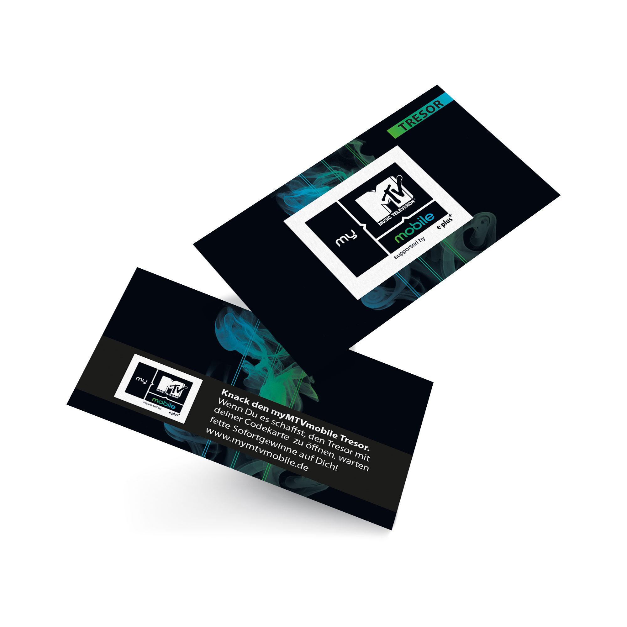 Tresor - Karten