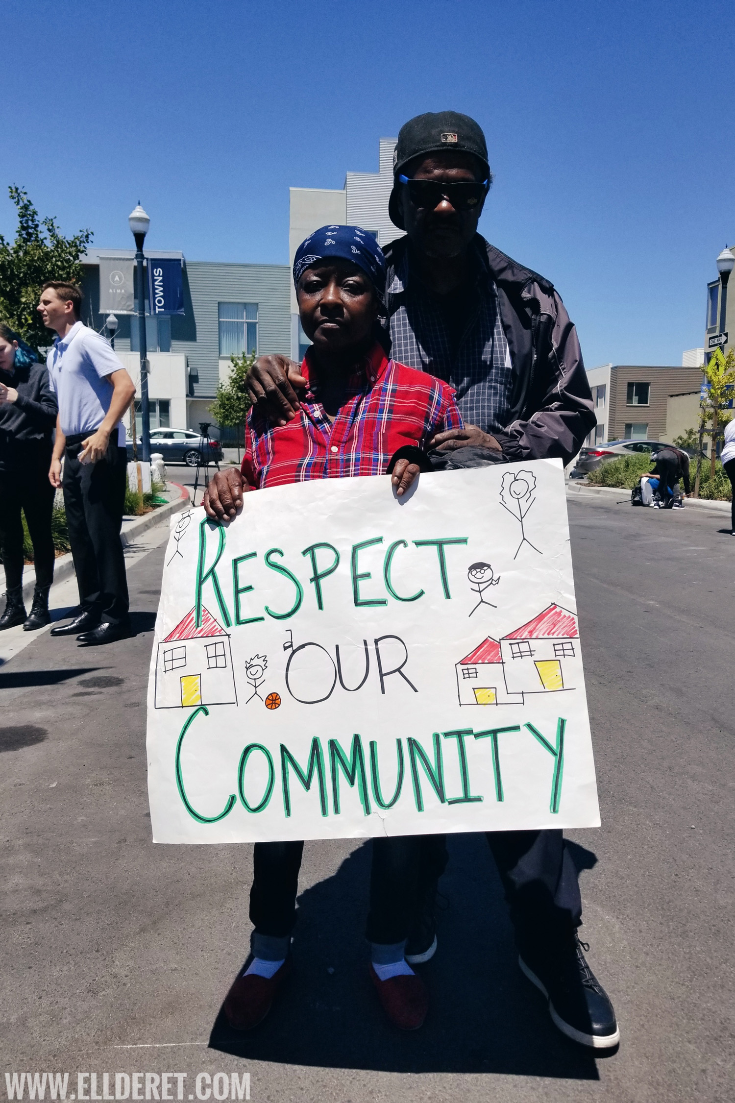 Bayview Hunters Point Lennar Shipyard Protest