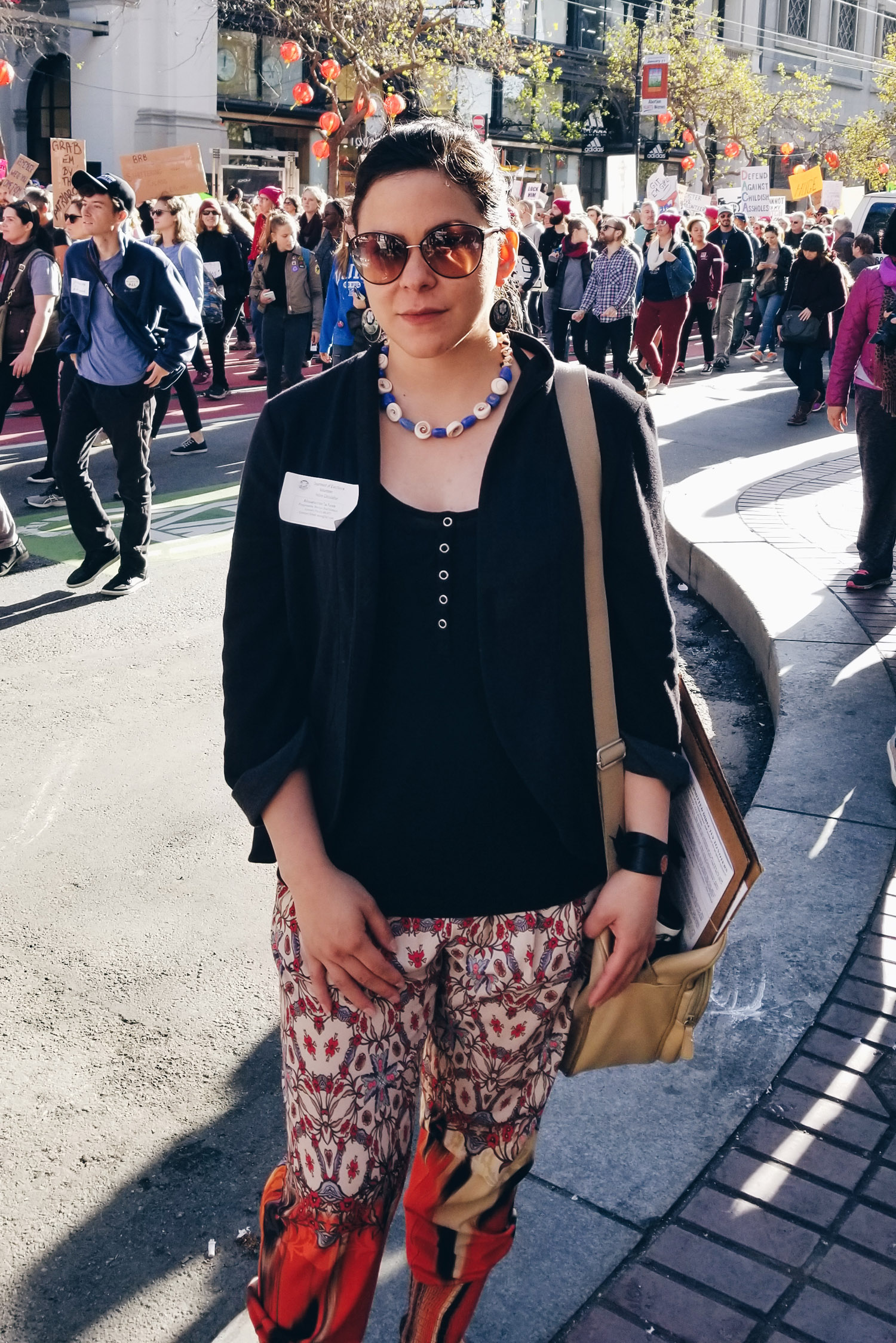 Women's March + signature gathering