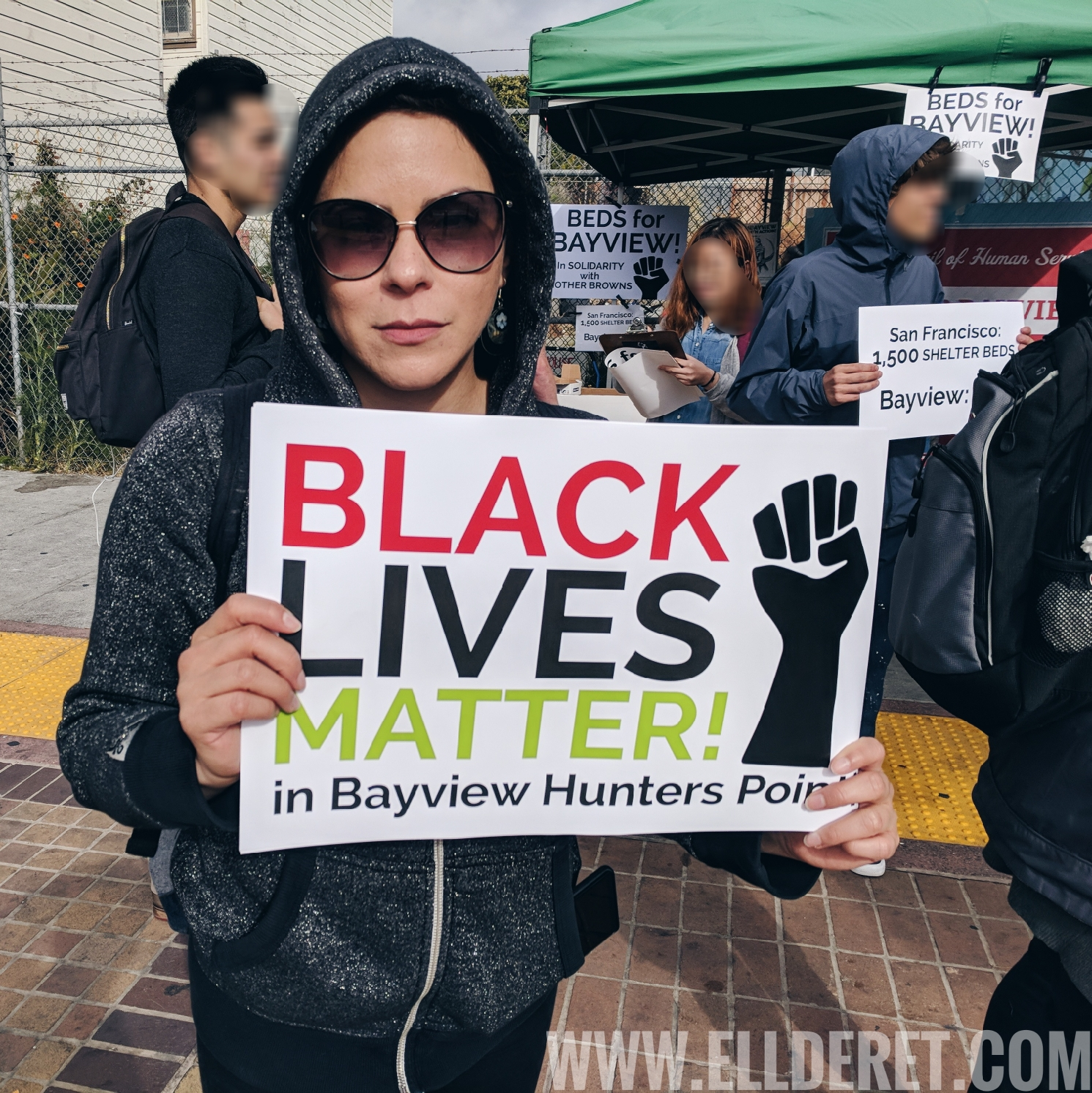 Beds For Bayview Protest