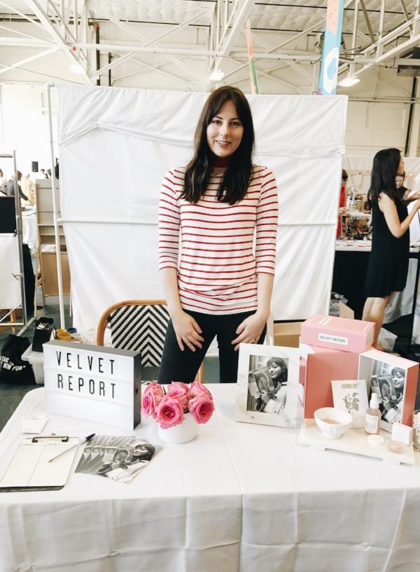 Lindsey, owner & founder of Velvet Report