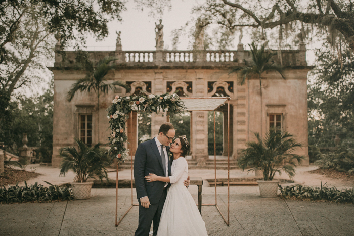 This Lush Vizcaya Museum & Gardens Wedding is Pure European-Inspired Elegance in the Heart of Miami - junebug WEDDINGS | Real Wedding | May 29, 2019
