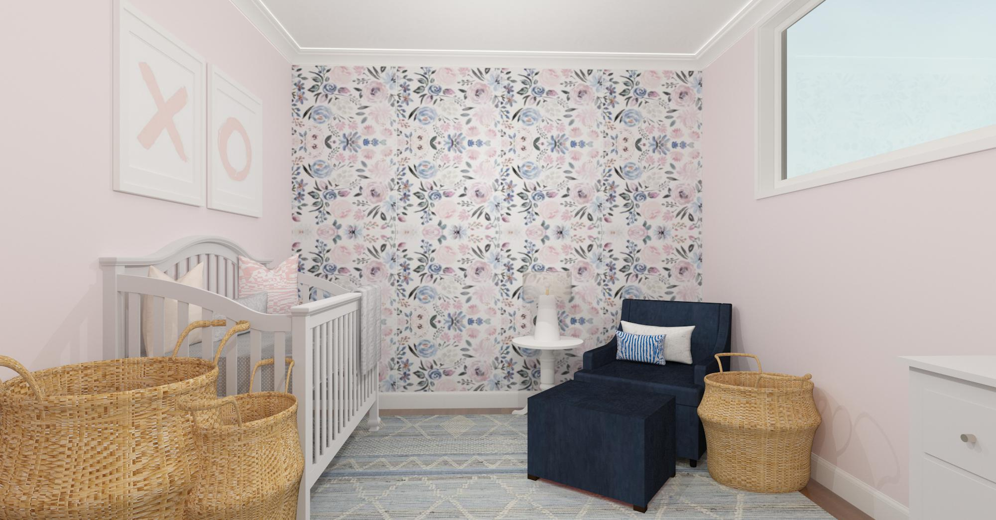 Rendering of a nursery