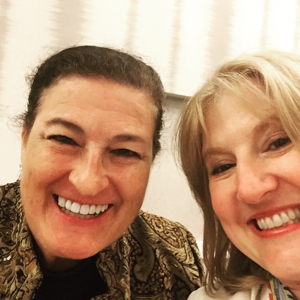 Kelli and Kim at the American Business Women's Association Regional meeting in Alexandria, VA on April 13, 2018