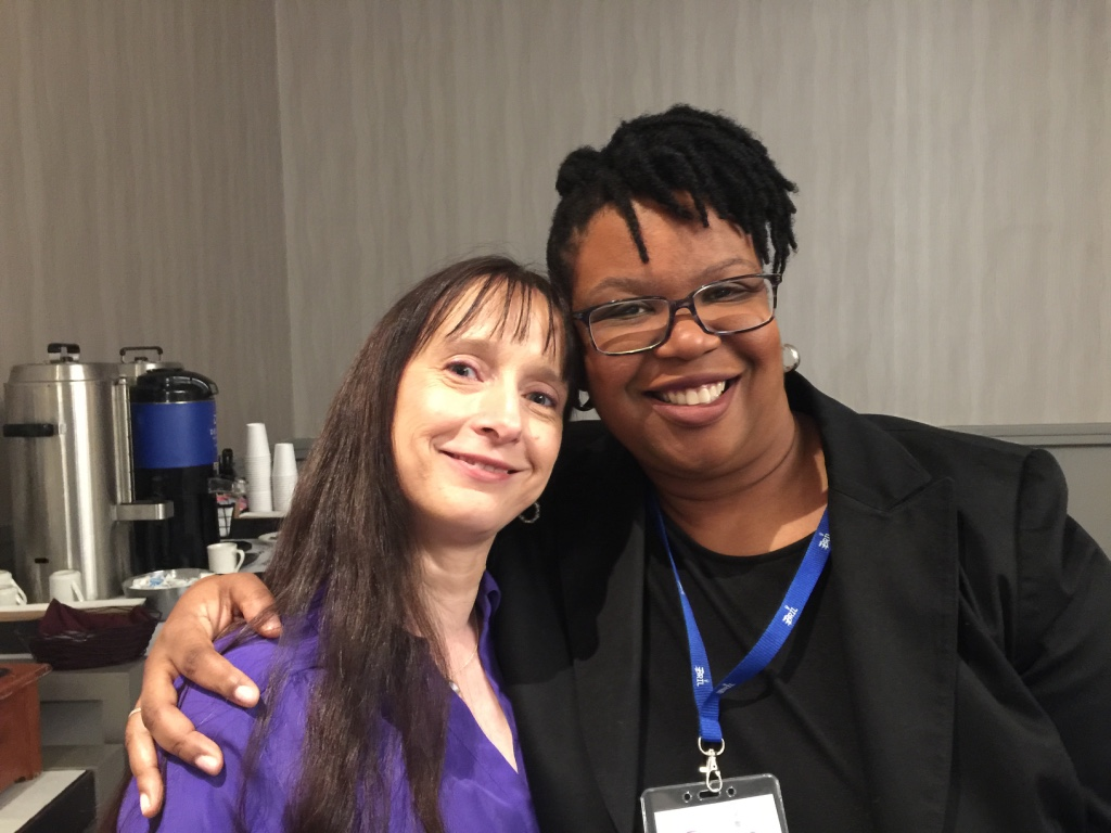 Sorana Blackfoot, Organizer of the BRIL Conference, and Shan-Nel Simmons, one of the BRIL Conference speakers