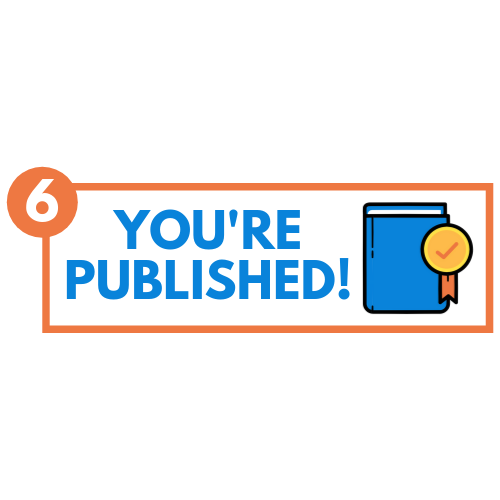 You're A Published Author! - Finally, you get to hold your printed book in your hand! Your ebook and printed book are also made available on major retailers such as Amazon and Barnes & Noble. It's one of the best feelings in the world!