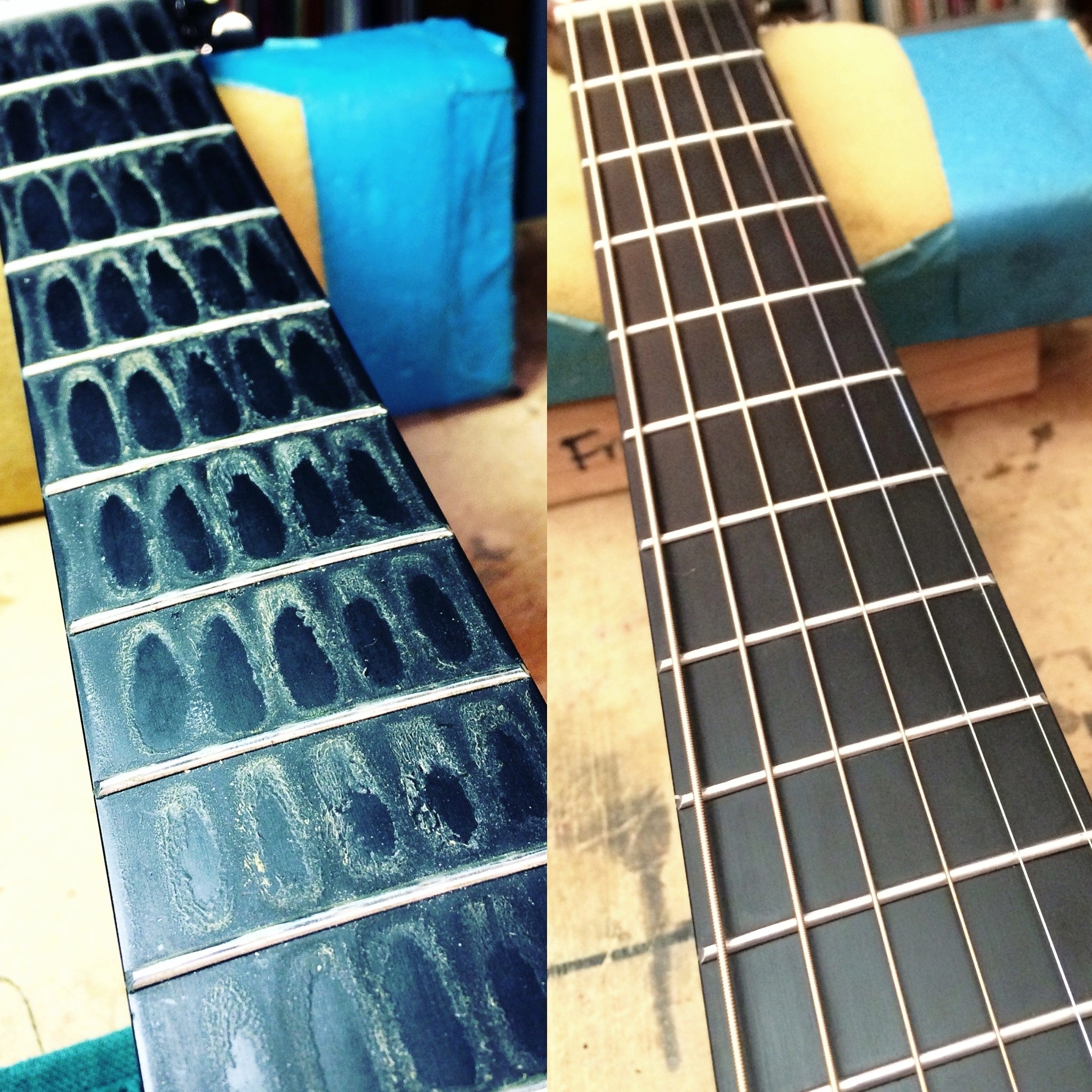 Cleaning and Restringing