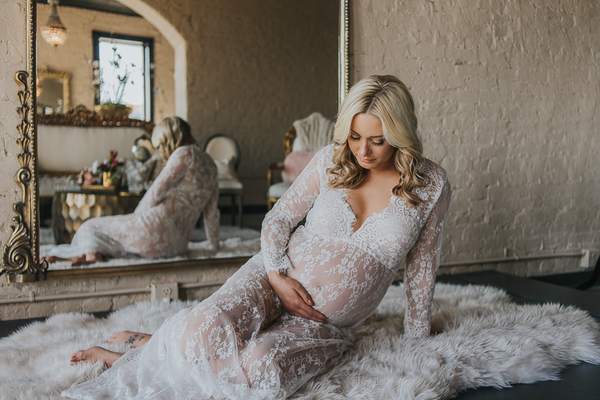 louisville maternity session