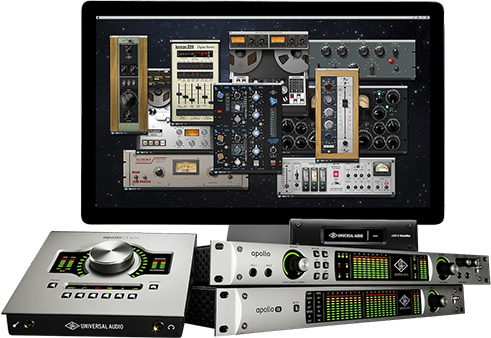 Industry Leading Universal Audio Apollo series DAW hardware. Industrial Design by Lucian Tu.