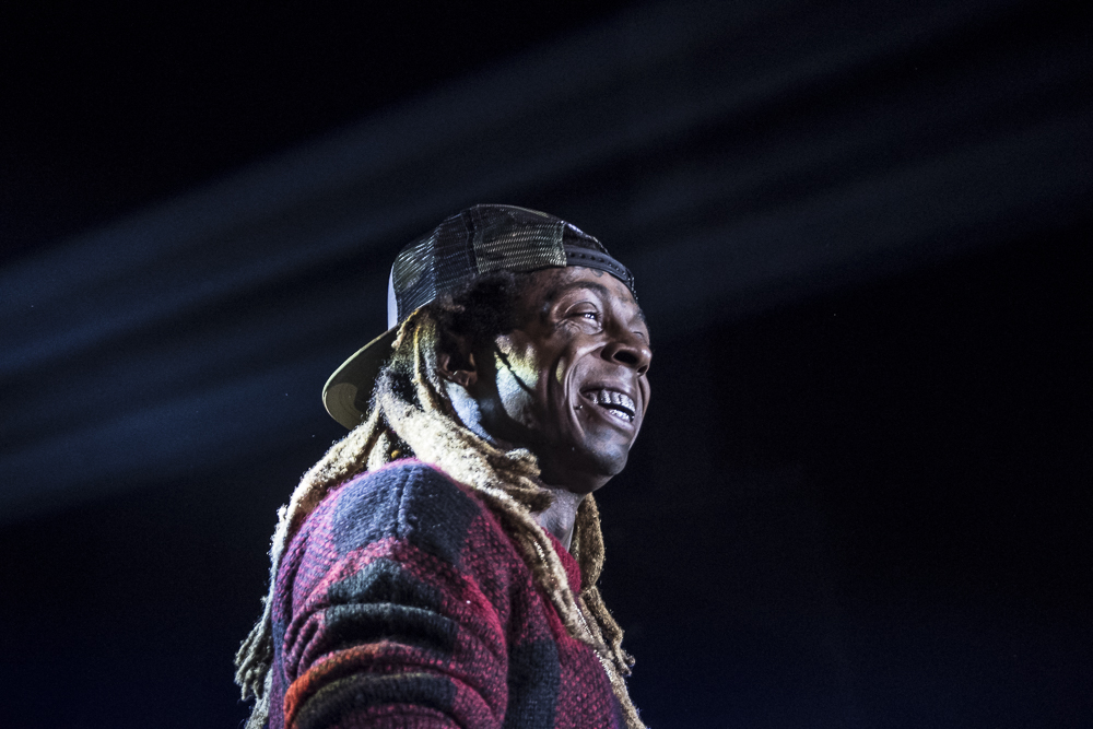 Lil Wayne  at  Coca-Cola Roxy  shot by  Sidney Spear  on May 8, 2017