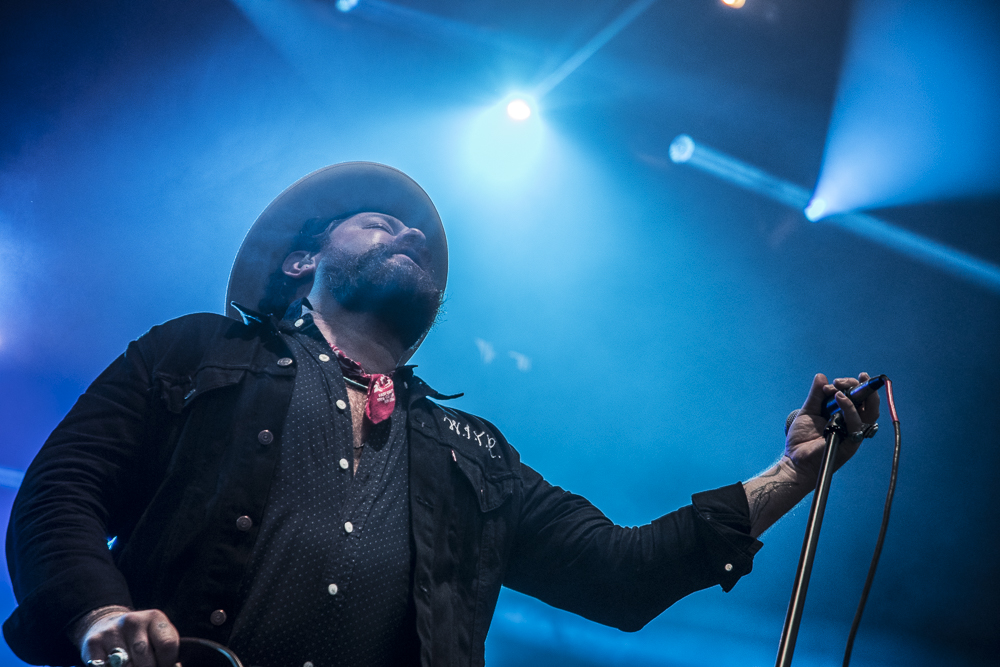Nathaniel Rateliff and The Night Sweats  at  Sloss Fest  in Birmingham shot by  Sidney Spear  on July 15, 2017
