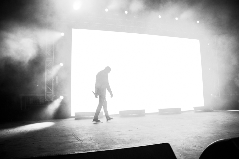 Vince Staples  at  Sloss Fest  in Birmingham shot by  Sidney Spear  on July 16, 2017